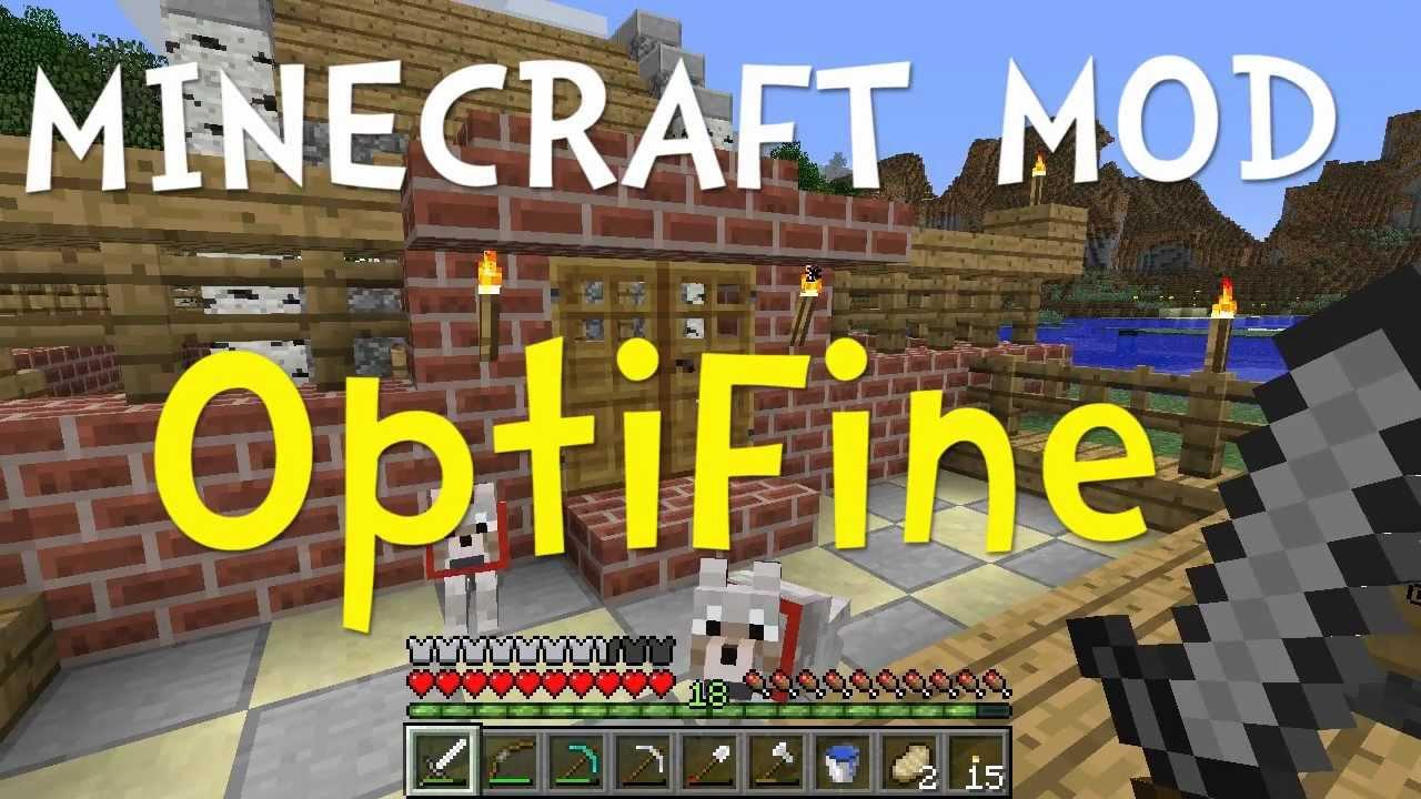 Minecraft OptiFine Mod (Make Minecraft Run Faster and Look Better