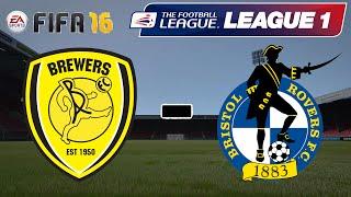 Burton Albion - Bristol Rovers – League One 4.Spieltag(16/17)  «» Fifa16 Karriere #73 | [FullHD]