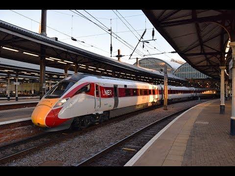 LNER Class 800 | Newcastle [HD]