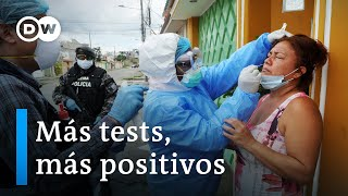 Ecuador duplica casos de contagio