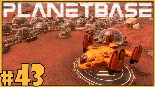 Let's play planetbase gameplay - part 43 healthy lifestyle