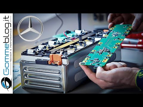 Mercedes Electric ENGINE - Battery PRODUCTION ASSEMBLY
