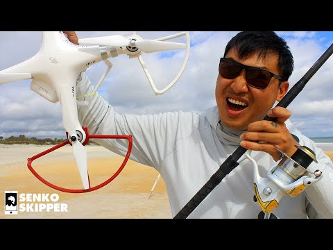 Fishing Drone for Beach Fishing – Is It Worth It? How -To & Drone Fishing Tutorial