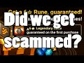 YDCB Summoners War - Legendary Rune Pack (again)
