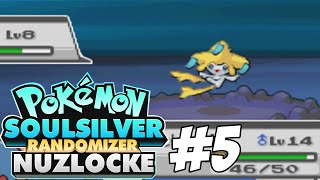 Pokemon SoulSilver Randomizer Nuzlocke Challenge | Part 5