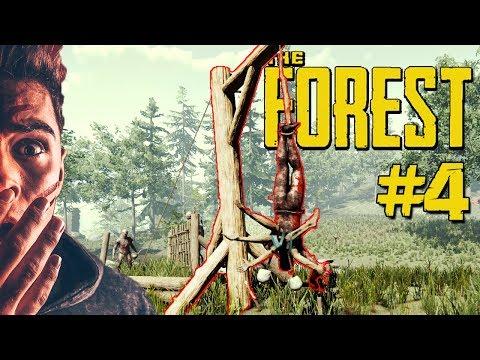 PEŁNO ATAKÓW KANIBALI! 😱 ROBIMY PUŁAPKI! THE FOREST 4!