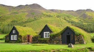 видео Трава на крыше: дом и кровля
