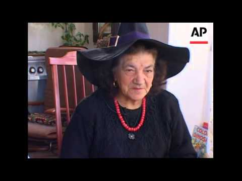 A village in Italy known for its witches prepares for Halloween