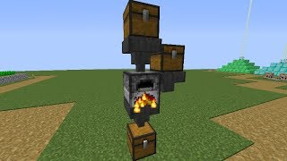 Minecraft 1.12.2:How to make a auto furnace