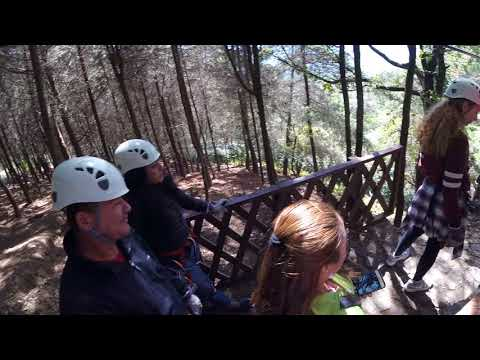 Ziplining/ Canopy Finca Filadelfia GoPro FULL VIDEO