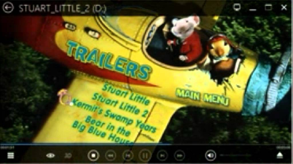 Trailers From Stuart Little 2 2002 Uk Dvd Youtube
