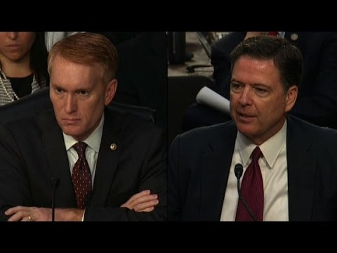 Comey: Lynch request gave me queasy feeling