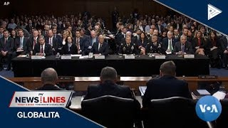 GLOBAL NEWS: China, Russia top Us Intel chief's list of security threats
