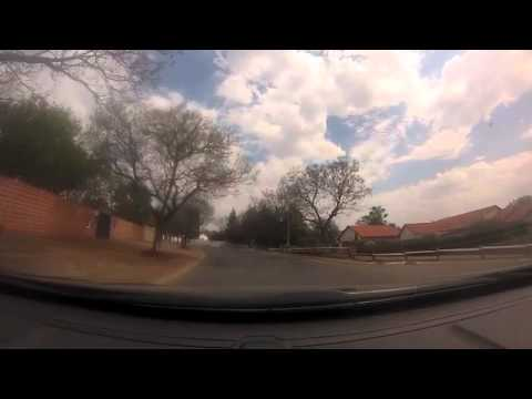 Driving through the streets of Johannesburg in real time video 1