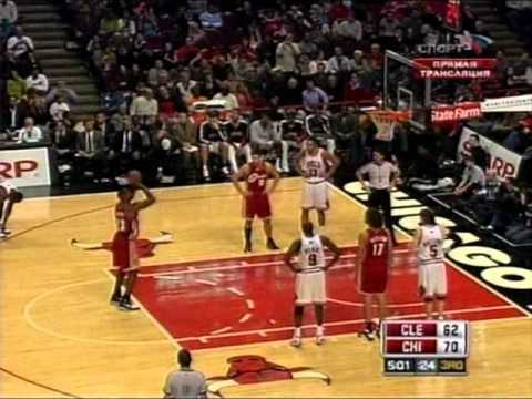 LeBron James 2008-09: 41 points vs. Chicago Bulls.