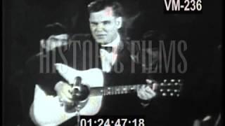 in memoriam doc watson performs deep river blue circa 1960s