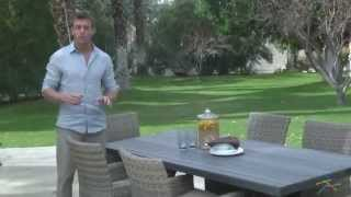 Bella All Weather Wicker Patio Dining Set - Product Review Video