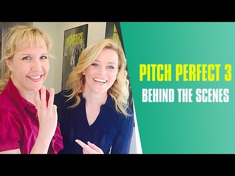 Pitch Perfect 3 Live On The Set With Director Trish Sie (Behind The Scenes)