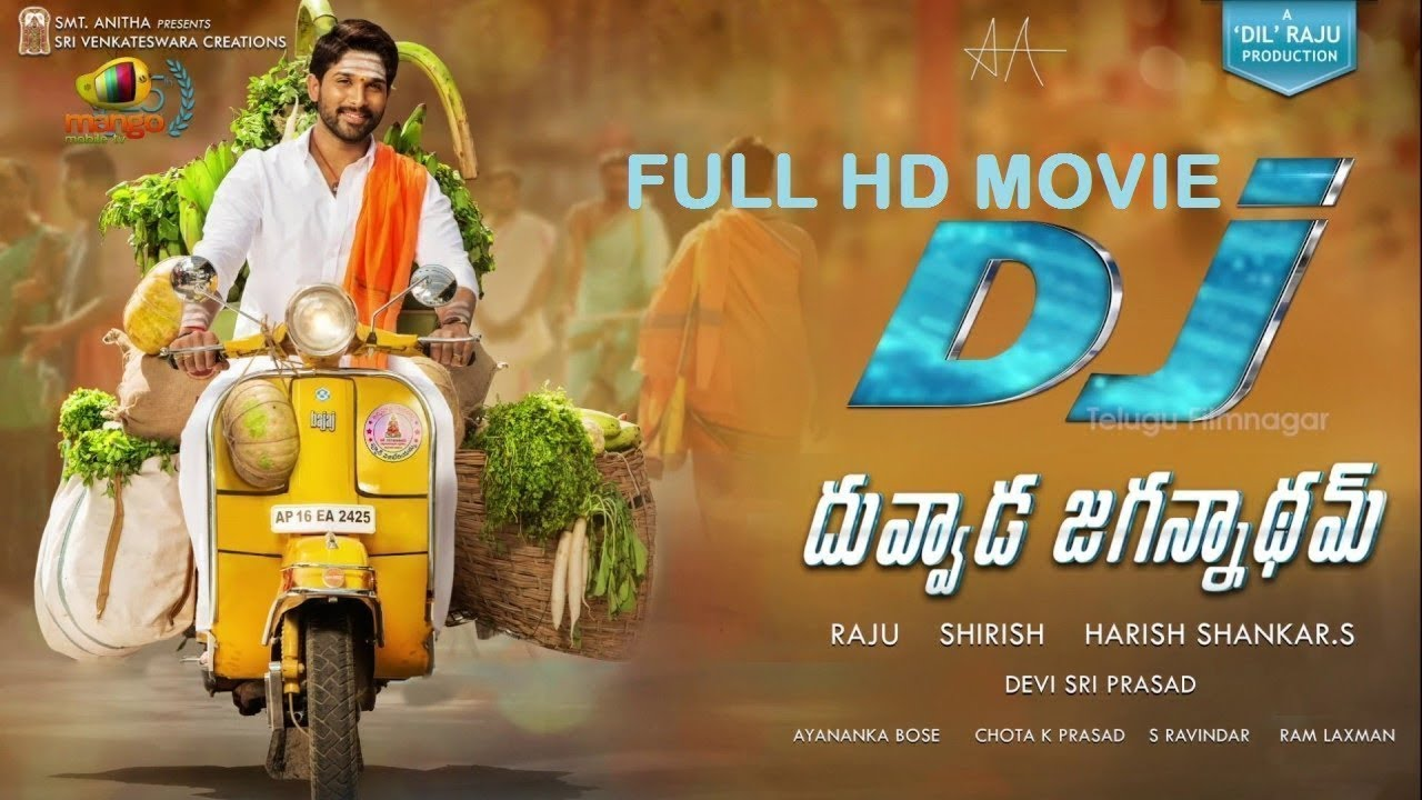 Download Dj Duvvada Jagannadham Allu Arjun Movie 2017 How To