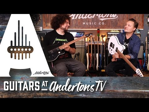 New Sterling By Music Man Axis Guitars With Rabea and Pete
