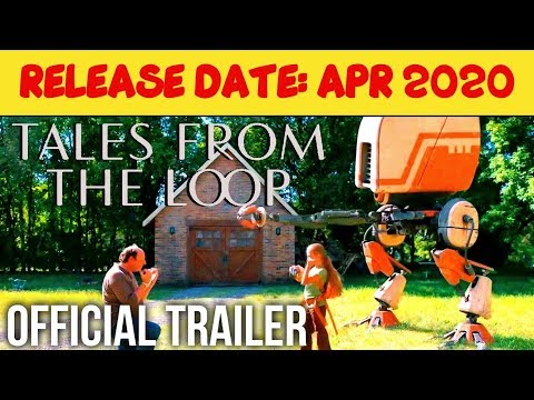 TALES FROM THE LOOP Official Trailer HD  APR2020  Rebecca Hall, TV Series