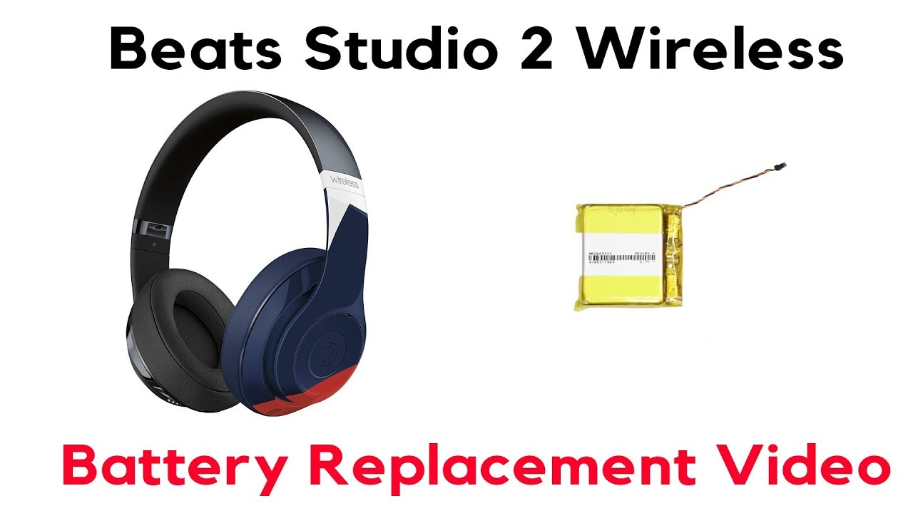 How To Replace A Beats Studio 2 Wired Wireless Battery Replacement Joesge Apple Youtube