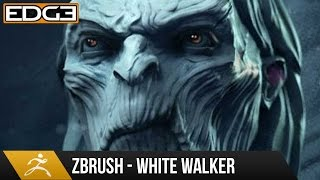 zbrush sculpting tutorial white walker from game of thrones hd