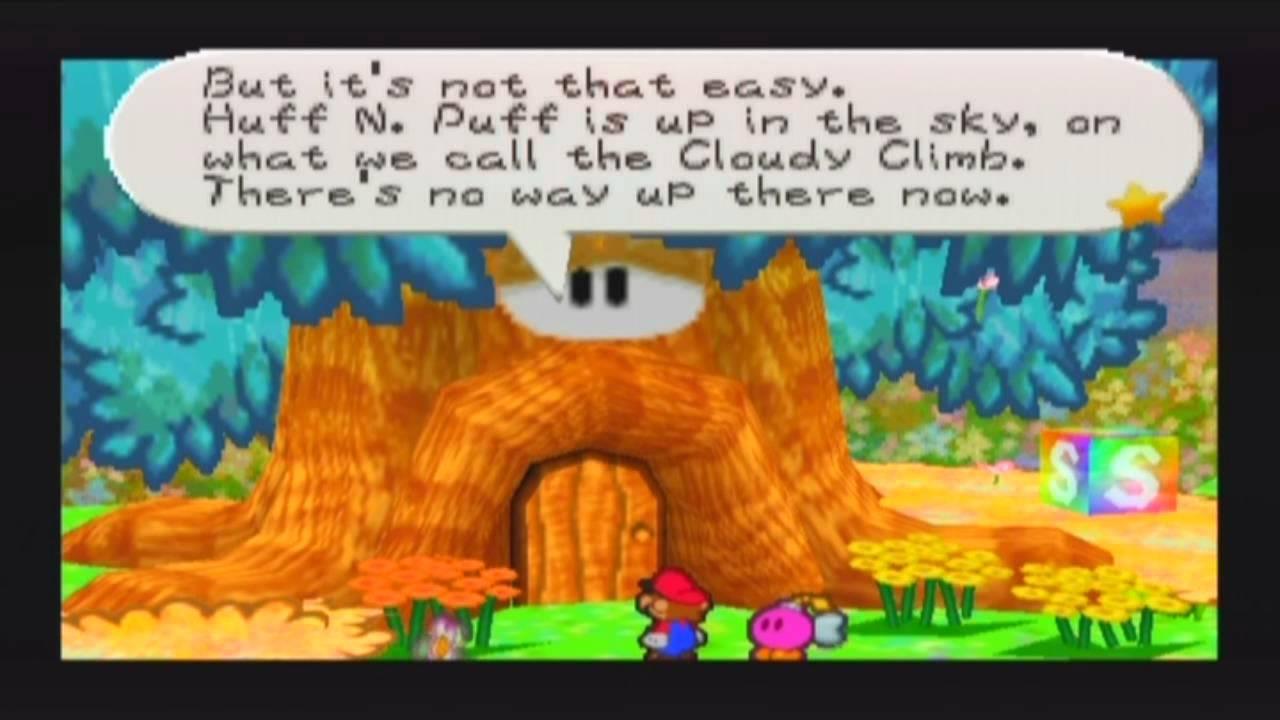 Paper Mario 64 100 Walkthrough Part 39 The Start Of Flower Flower