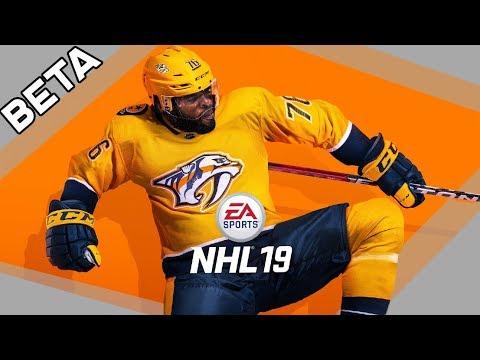 NHL 19 | BETA | Je něco nového? | PS4