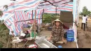 Ketsana aftermath in Kon Tum province, Vietnam