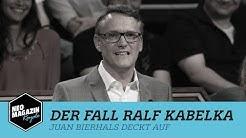 Der Fall Ralf Kabelka - Juan Bierhals deckt auf | NEO MAGAZIN ROYALE mit Jan Böhmermann - ZDFneo