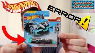 HOT WHEELS Flash Drive ERROR  **UNIQUE** 2018 SUPER CHROMES