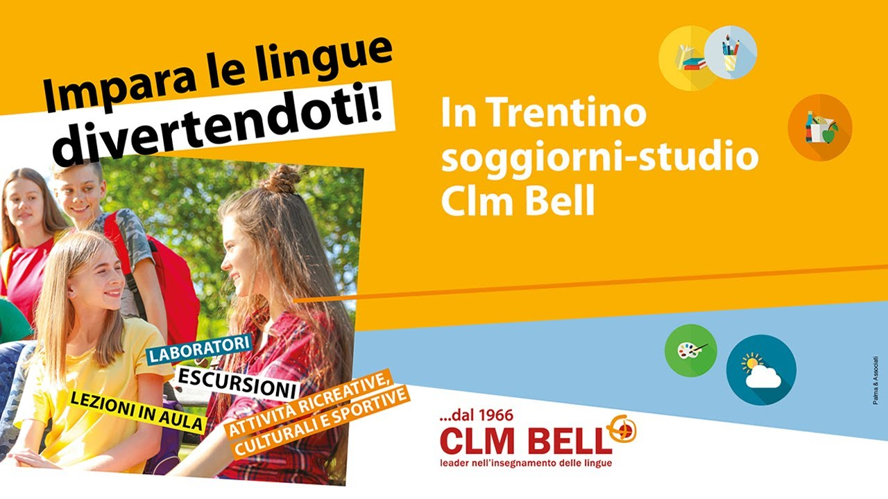 Inglese in Trentino – CLM BELL