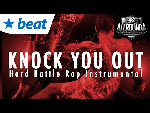 🔥  Angry Hard Battle Rap Beat 2017 x Hip Hop Instrumental 2017 - KNOCK YOU OUT - by Allrounda