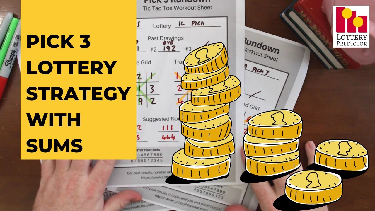New Pick 3 Lottery Strategy - Evening & Midday With Sums