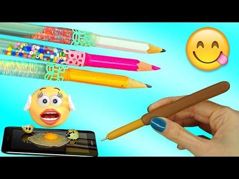 Weird Ways To Sneak Stress Relievers Into Class / Anti Stress School Supplies