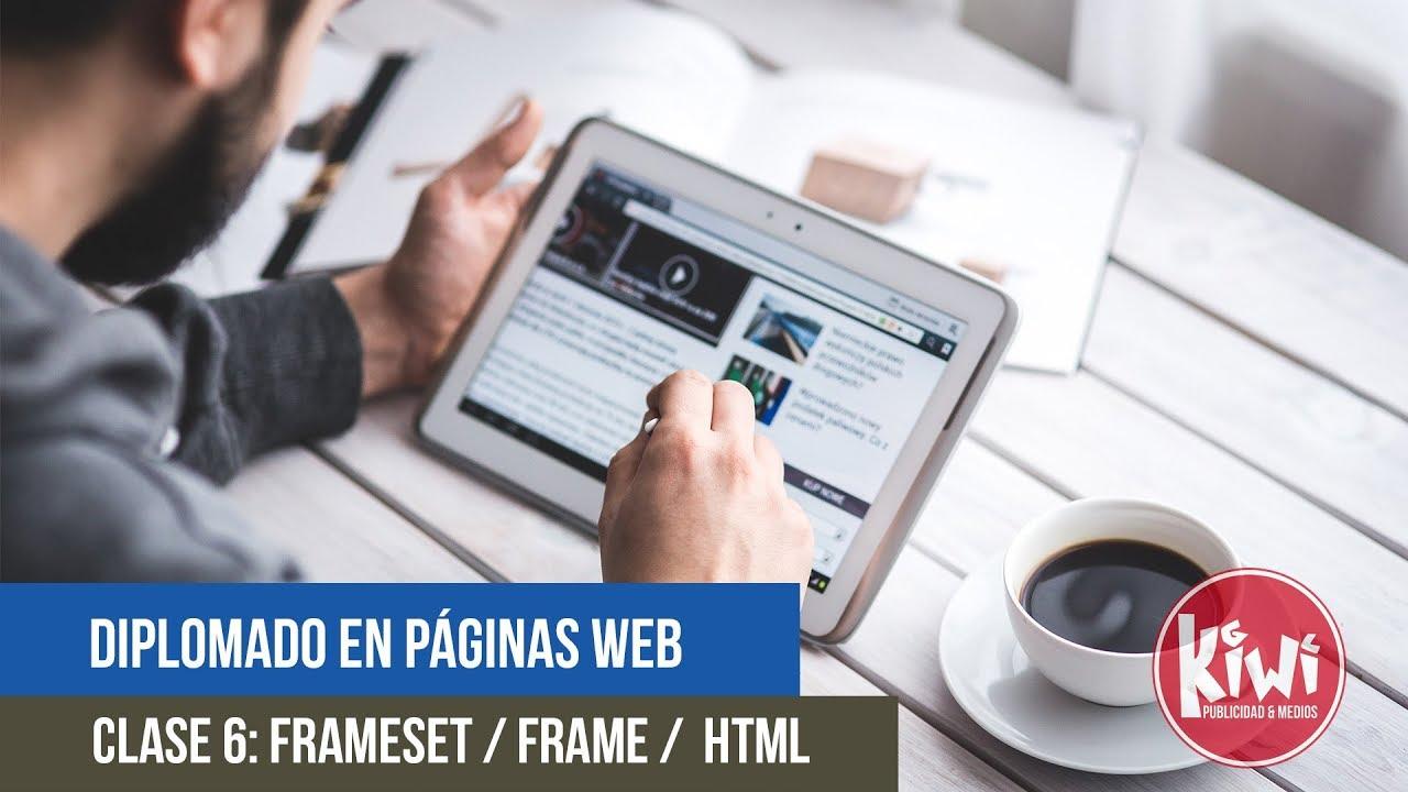 Clase 6: Frameset / Marcos / Html / Frame src - YouTube