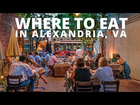 Where To Eat In Alexandria, VA
