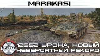 12552 урона, новый невероятный рекорд дамага! World of Tanks