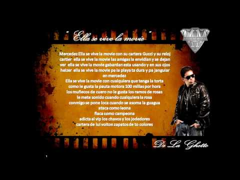 De La Ghetto Ft Alex Kyza - Ella Se Vive...
