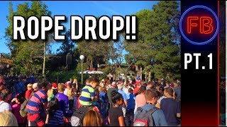 Rope drop LOVE (and anxiety) | Big Thunder Railroad | 11-25-17 Pt. 1