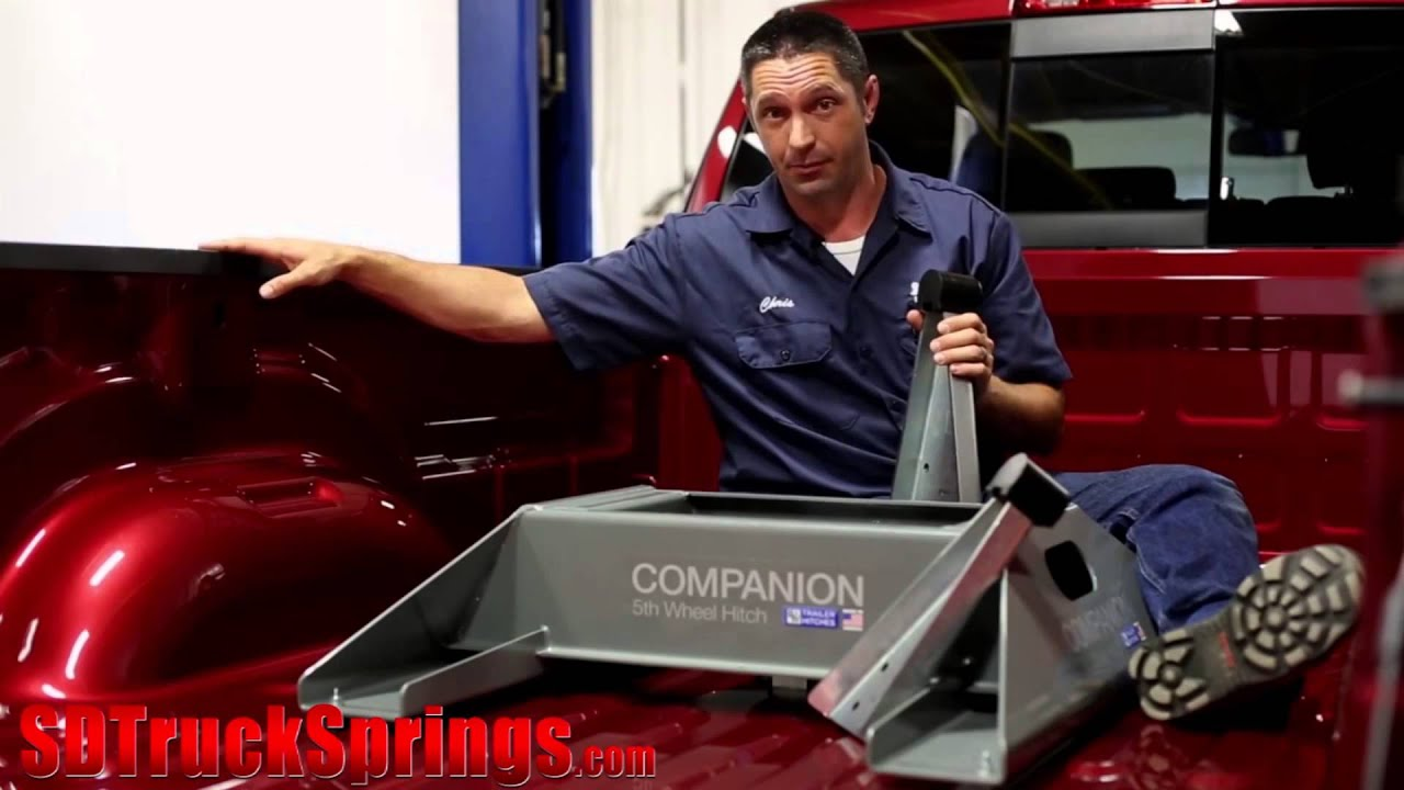 hight resolution of how to install the b w companion 5th wheel rv hitch for pickups model rvk3500