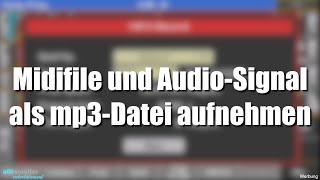 Pa1000/4X - Midifile & Audio-Signal als mp3 aufnehmen #249