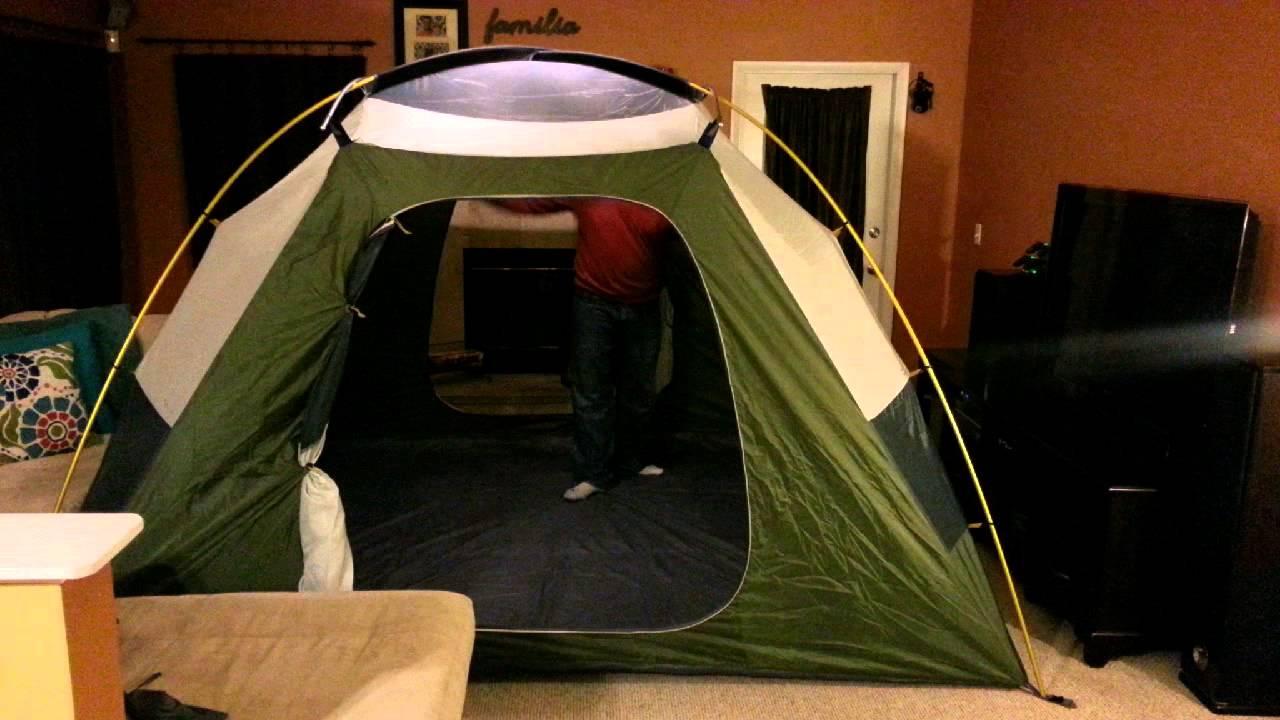 & Marmot Limestone 6 person tent setup - YouTube