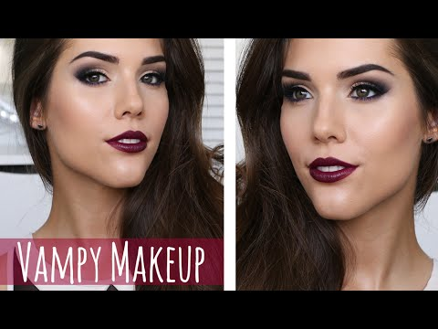Vampy Brown Eyes Makeup Tutorial