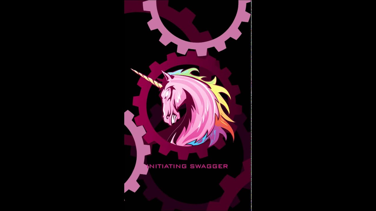 Pink Unicorn Live Wallpaper