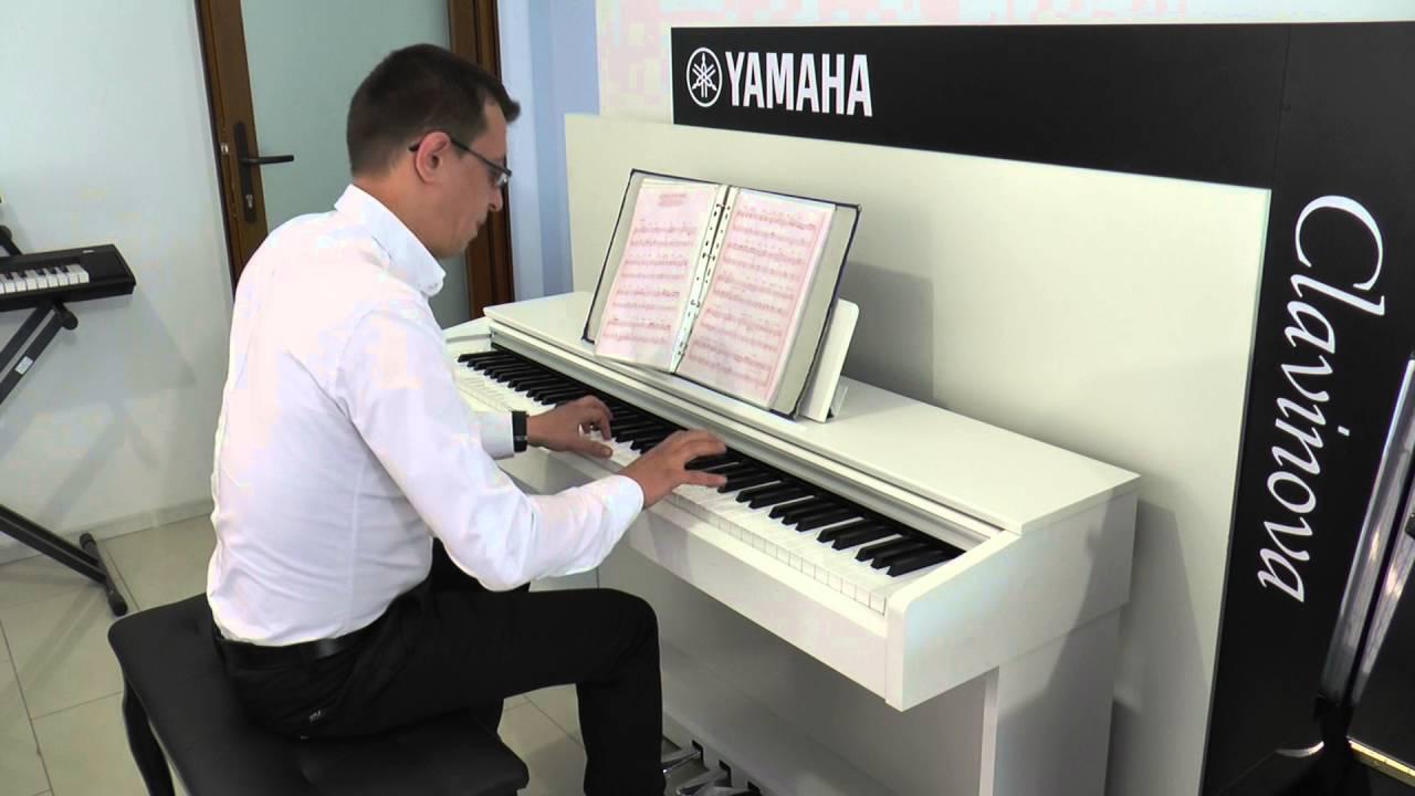 yamaha ydp 143 demo pian 01 youtube. Black Bedroom Furniture Sets. Home Design Ideas