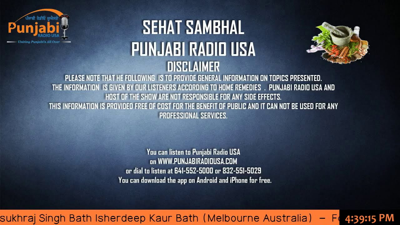 punjabi radio usa team