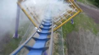 Bizarro Front Seat on-ride POV Six Flags Great Adventure