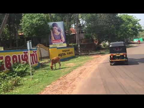 Kerala Back Streets By Motorbike